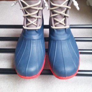 SPERRY Women Saltwater Waterproof Duck Boot - NEW